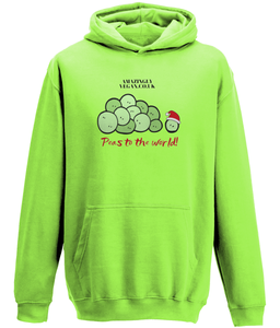 Vegan Peas to the world - Hoodie