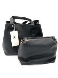 Vegan Small Black Everyday Handbag