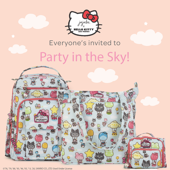 Party in the Sky Collection by Ju-Ju-Be and Hello Kitty Sanrio