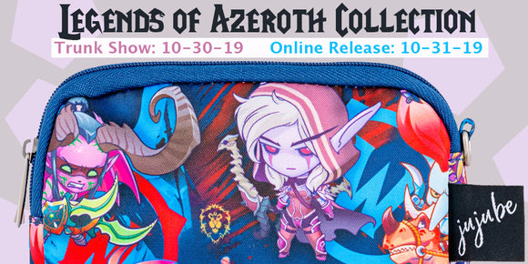 Legends of Azeroth Collection: Ju-Ju-Be x Blizzard/WOW