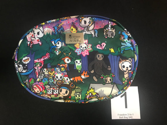 Camp Toki Freedom 2 in 1 Hip Bag (#1) from Ju-Ju-Be x Tokidoki