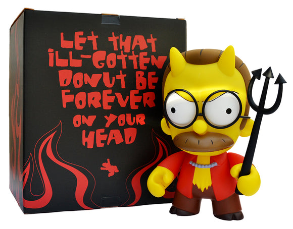 The Simpsons Devil Flanders Art Figure by Kidrobot