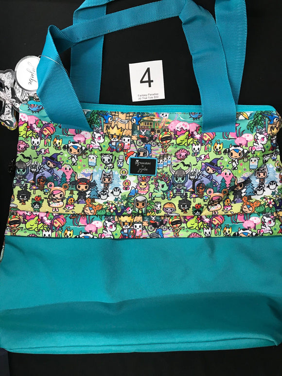 Fantasy Paradise All That Tote (#4) from Ju-Ju-Be x Tokidoki