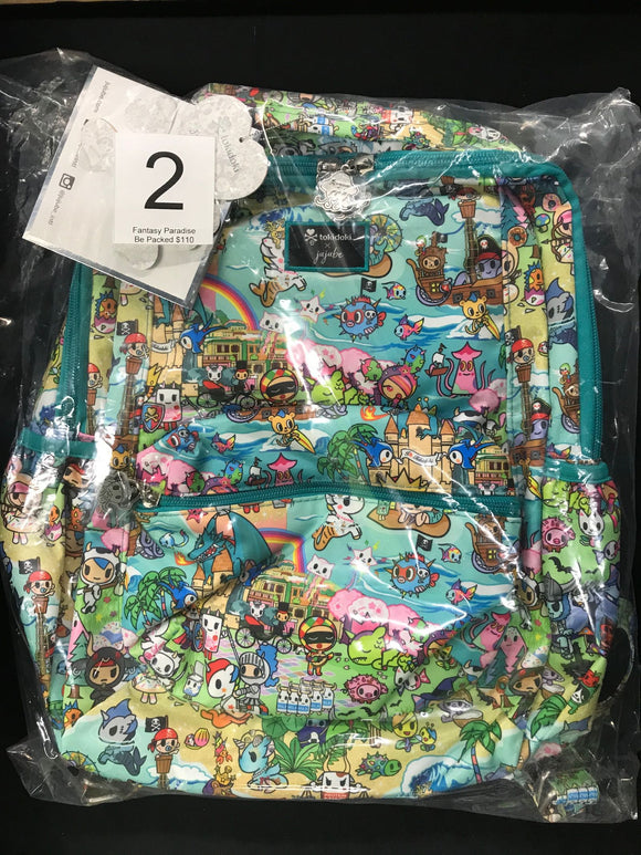 Fantasy Paradise Be Packed (#2) from Ju-Ju-Be x Tokidoki