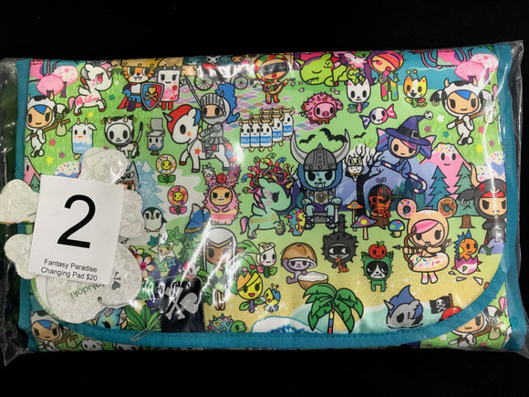 Fantasy Paradise Changing Pad (#2) from Ju-Ju-Be x Tokidoki