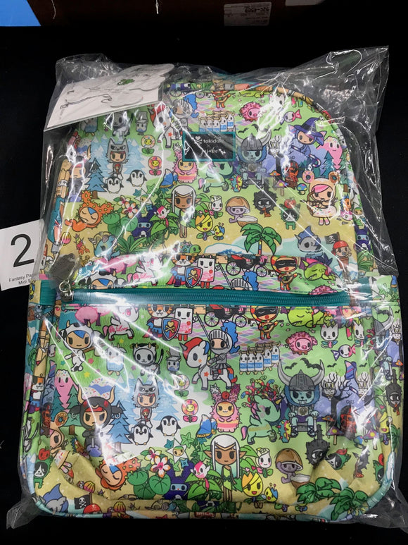 Fantasy Paradise Midi Backpack (#2) from Ju-Ju-Be x Tokidoki
