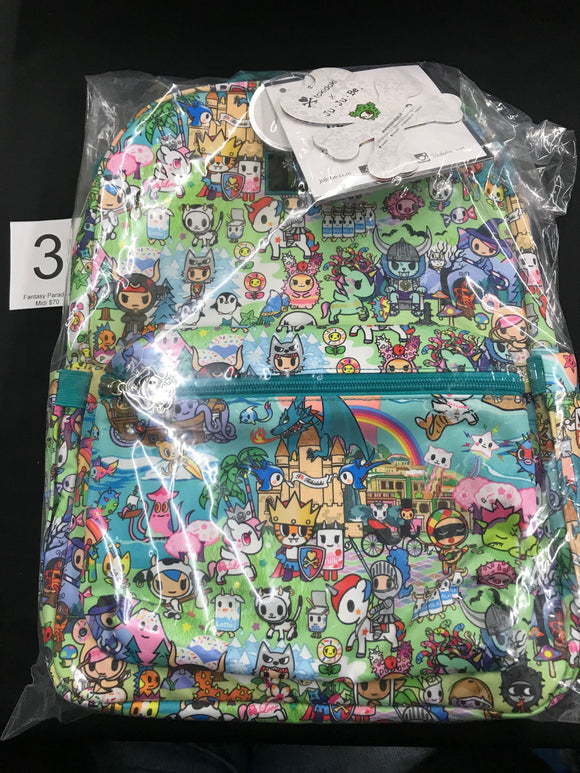 Fantasy Paradise Midi Backpack (#3) from Ju-Ju-Be x Tokidoki