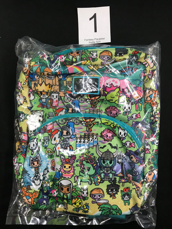 Fantasy Paradise Petite Backpack (#1) from Ju-Ju-Be x Tokidoki