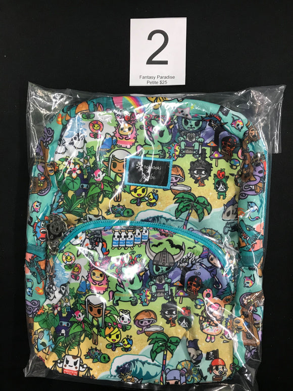 Fantasy Paradise Petite Backpack (#2) from Ju-Ju-Be x Tokidoki