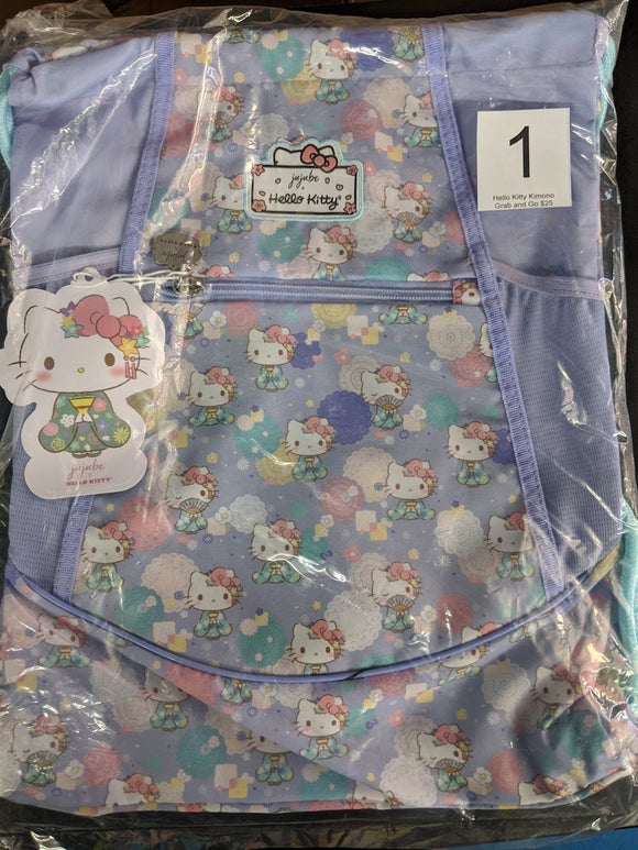 Hello Kitty Kimono: Grab and Go Backpack (#1) from Ju-Ju-Be x Hello Kitty
