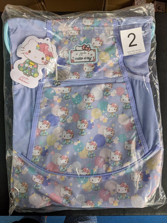 Hello Kitty Kimono: Grab and Go Backpack (#2) from Ju-Ju-Be x Hello Kitty