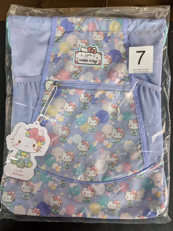 Hello Kitty Kimono: Grab and Go Backpack (#7) from Ju-Ju-Be x Hello Kitty