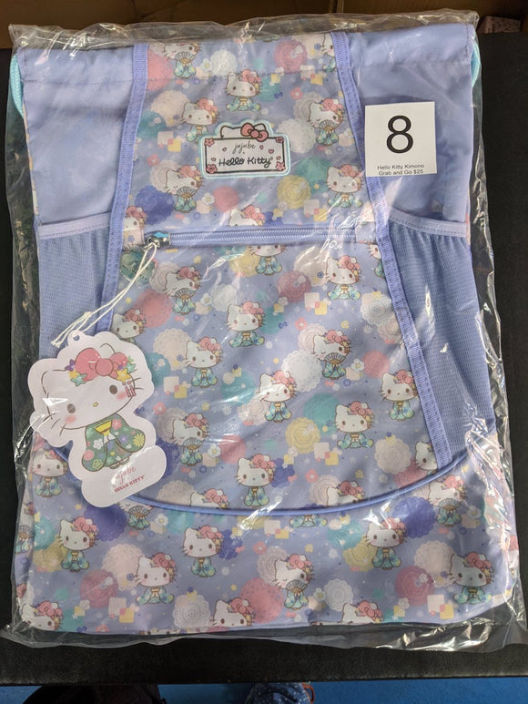 Hello Kitty Kimono: Grab and Go Backpack (#8) from Ju-Ju-Be x Hello Kitty