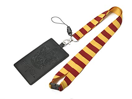 Harry Potter: Gryffindor School Crest Lanyard with Card Holder