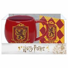 Harry Potter Gryffindor Mug and Coaster Set