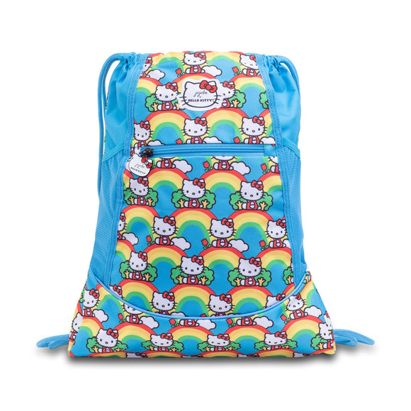 Hello Rainbow Grab and Go Backpack from Ju-Ju-Be x Hello Kitty