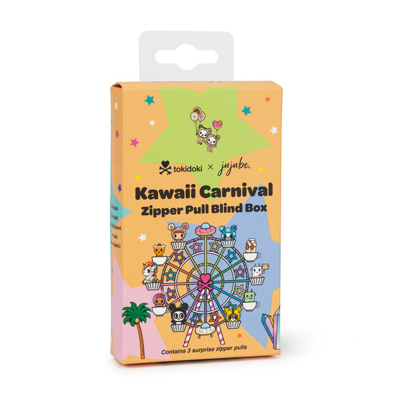 Kawaii Carnival Zipper Pull Blind box from Ju-Ju-Be x Tokidoki