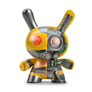 "Dairobo-B Mecha Half Ray 5"" Dunny by Dolly Oblong - Yellow Edition"