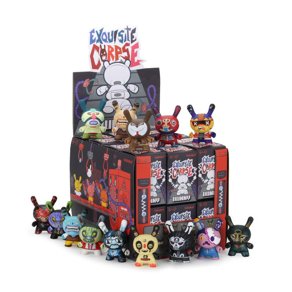 Kidrobot Exquisite Corpse Dunny Blind Box Series