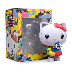 "Kidrobot x Sanrio Hello Kitty 8"" Art Figure by QUICCS – 80'S RETRO Version"