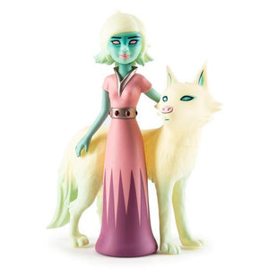 "Astra and Orbit 8"" Art Figure by Tara McPherson"