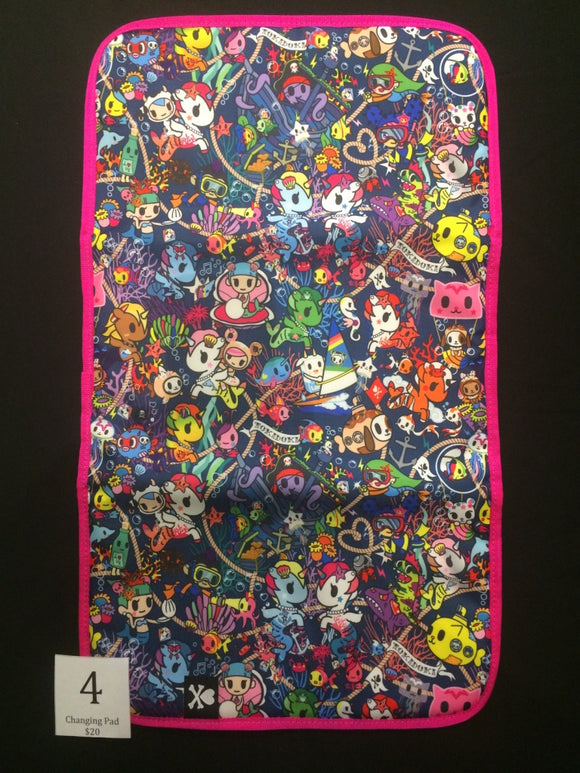 Sea Punk Changing Pad (#4) from Ju-Ju-Be x Tokidoki