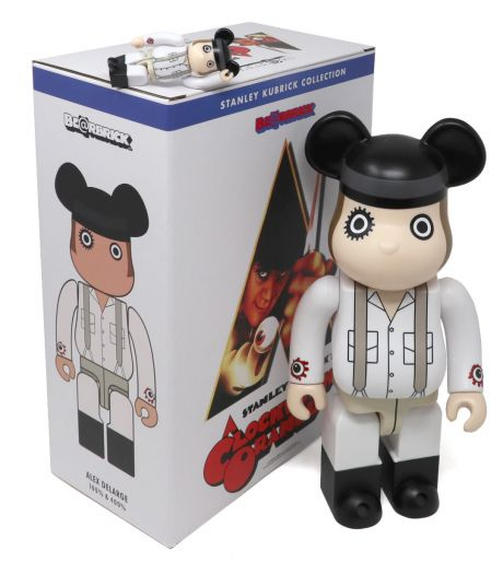 Alex DeLarge A Clockwork Orange 100% & 400% Bearbrick Set
