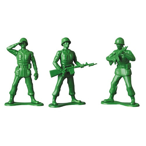 Green Army Men UDF Medicom Toy