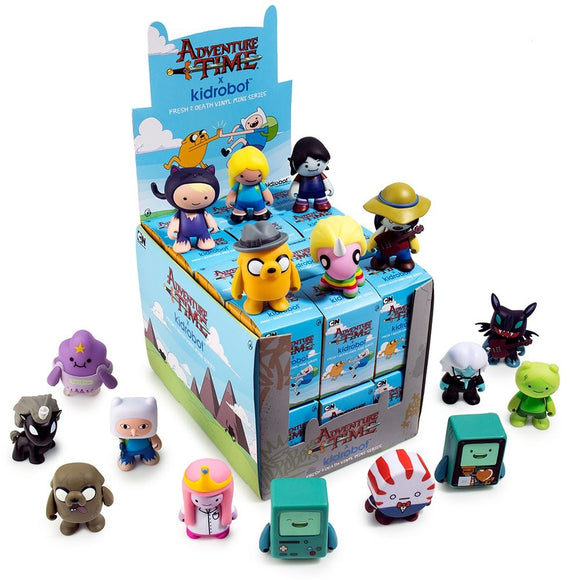 Adventure Time Fresh 2 Death Mini Figure Series FULL CASE