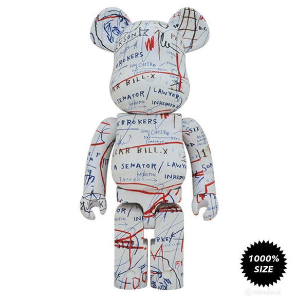 Jean-Michel Basquiat 1000% Bearbrick #2
