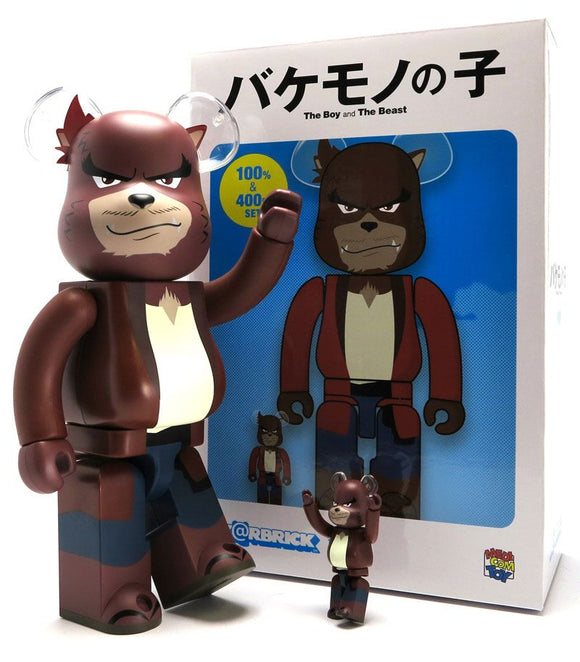 The Boy and the Beast 400% and 100% Bearbrick Set