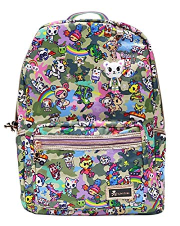 Tokidoki Camo Kawaii Backpack