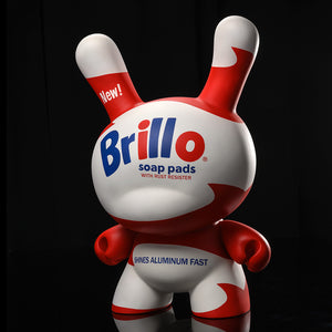 "Andy Warhol 20"" Fiberglass Brillo Dunny by Kidrobot"