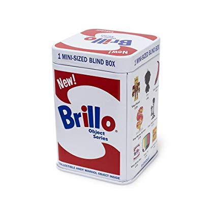 Andy Warhol Brillo Box Art Object Series by Kidrobot Blind Box