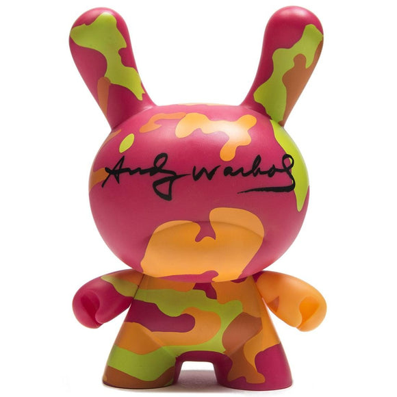 Kidrobot Andy Warhol 8-inch Masterpiece Dunny Camo