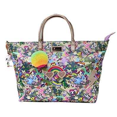 Tokidoki Camo Kawaii Carry All Tote