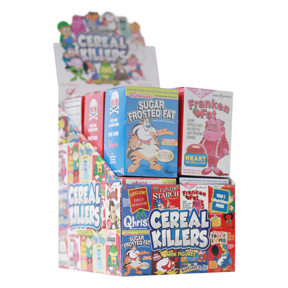Cereal Killers 3 Inch Figures Case of 12 by Ron English