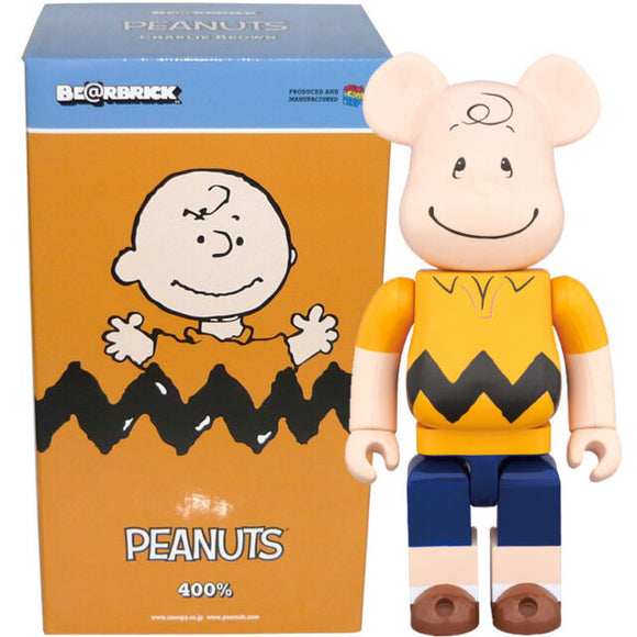 Charlie Brown 400% Bearbrick