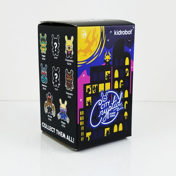 City Cryptid Dunny Art Figure Series by Kidrobot Blind Box