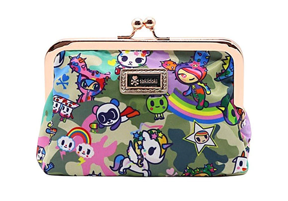 Tokidoki Camo Kawaii Clasp Coin Purse