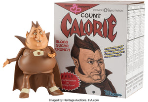 "Ron English 8"" Count Calorie Cereal Killer"