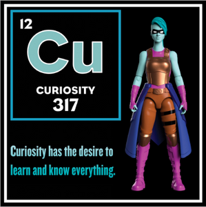 Curiosity - Wisdom Warriors - Action Figure by IamElemental