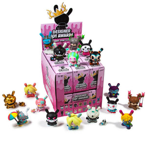 DTA Dunny Show Series Case of 24 Blind Boxes by Kidrobot x Clutter