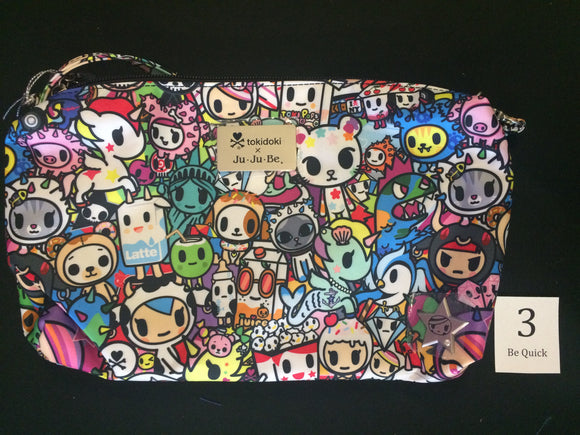 Iconic 2.0 Be Quick (#03) from Ju-Ju-Be x Tokidoki