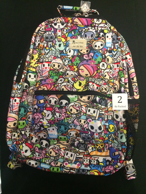 Iconic 2.0 Be Packed (#2) from Ju-Ju-Be x Tokidoki