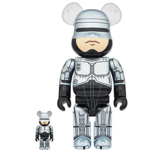 400% & 100% Bearbrick set - Robocop