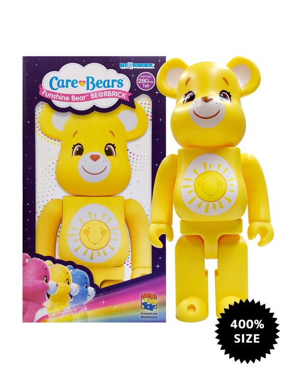 Funshine Bear Care Bears 400% Bearbrick