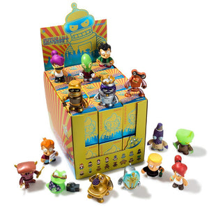 Futurama Universe X Mini Figure Series by Kidrobot FULL CASE