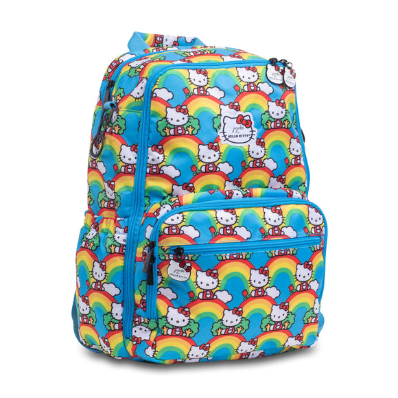 Hello Rainbow Zealous Backpack from Ju-Ju-Be x Hello Kitty