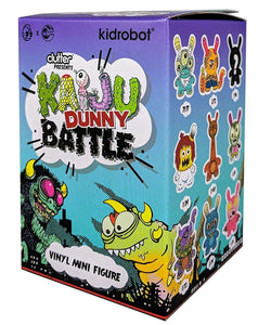 "Kaiju Dunny Battle 3"" Mini Figure Series by Kidrobot x Clutter Blind Box"